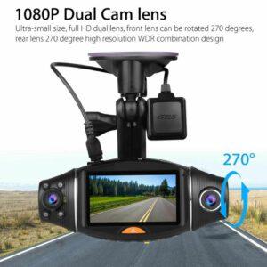 מצלמה לרכב דו כיוונית